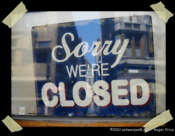 Banks and building societies closed to businesses
